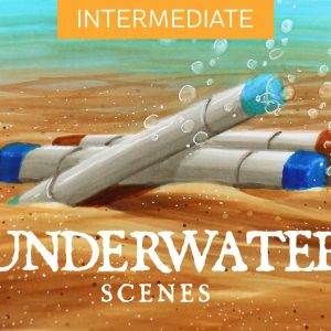 Mini Copic Course: Underwater Scenes