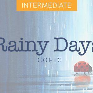 Mini Copic Course: Rainy Days